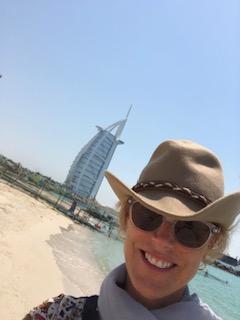 me at Burj Al Arab Jumeirah